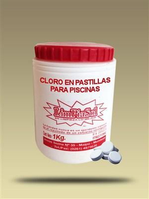 Cloro en pastillas para piscinas limpiasol - Pastillas de cloro para piscinas ...